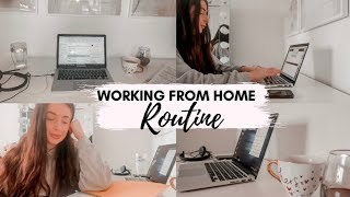 WORKING FROM HOME & SELF ISOLATION WORK ROUTINE! Stay productive & positive