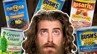 Can Rhett Guess Every Brand Of Bean? (Game)