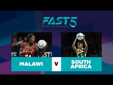 Malawi v South Africa | Fast5 Netball World Series 2017