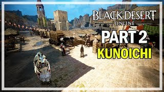 Black Desert Online - Kunoichi Let's Play Part 2 - Catfish