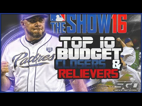 MLB The Show 16 Top 10 Budget Closers & Relievers| Diamond Dynasty Tips!