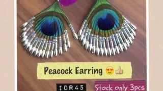 Sindyyshop - Koleksi Anting Bulu Merak & Unggas Unik Design Bali Thumbnail