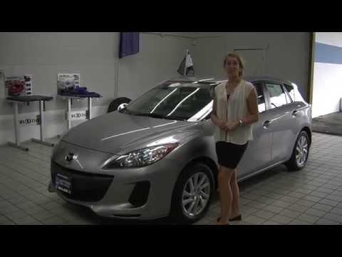 Virtual Video Walk Around of a 2012 Mazda 3 Hatchback at Milam Mazda