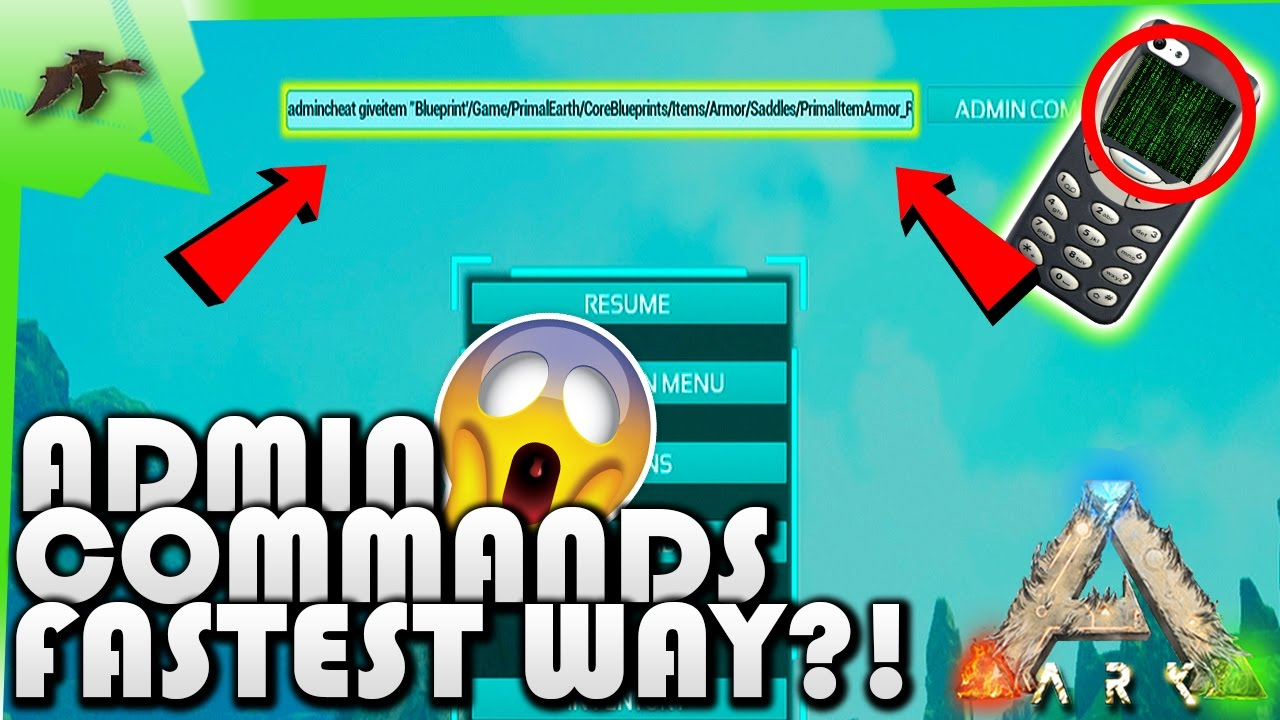 How to enter admin commandsspawn items super fast and easy ark how to enter admin commandsspawn items super fast and easy ark survival evolved xbox one kamz25 malvernweather Gallery