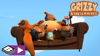Grizzy and the Lemmings | Flying Bear | Boomerang Africa