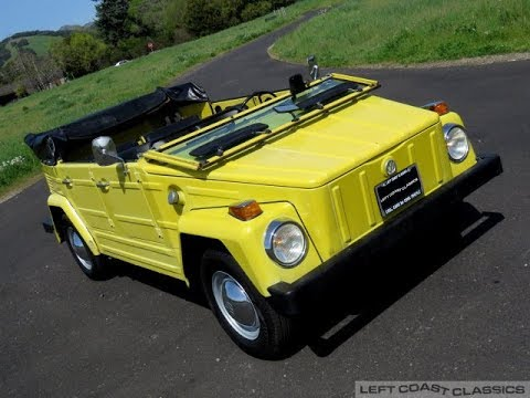 Very Original 1973 VW Thing for Sale