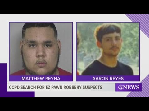 CCPD Identify Suspects In EZ Pawn Armed Robbery