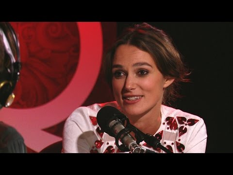 """The Imitation Game"" star Keira Knightley"
