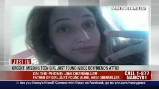 HLN:  Missing teen found in boyfriend's attic