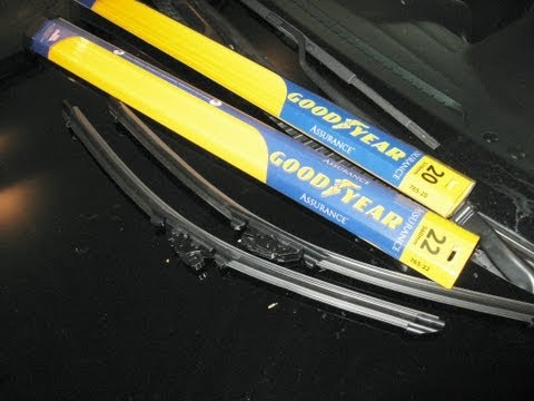 Goodyear Windshield Wipers >> Costco Goodyear Wiper Blades How To Replace Windshield Wipers Blades Easy install - NachoTV ...