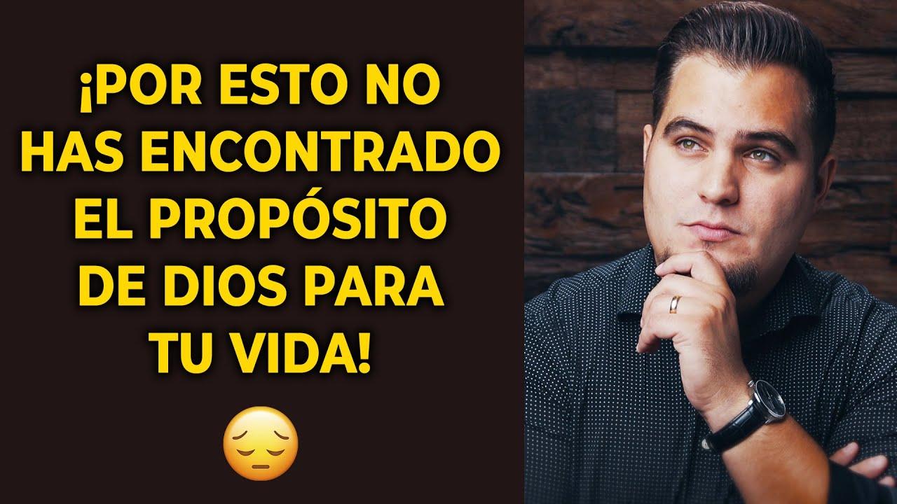 ¡NO TE VAYAS DE LA TIERRA SIN SABER EL PROPÓSITO DE DIOS PARA TU VIDA!
