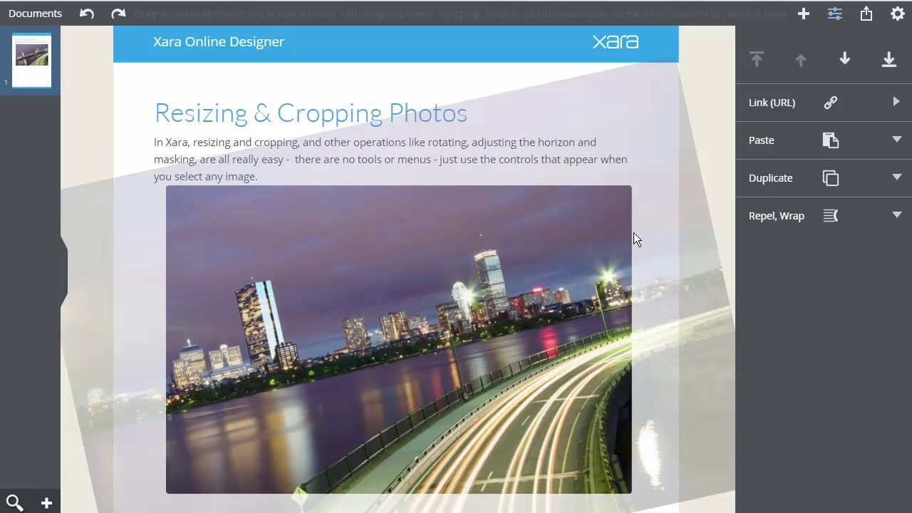 Picture cropping software online