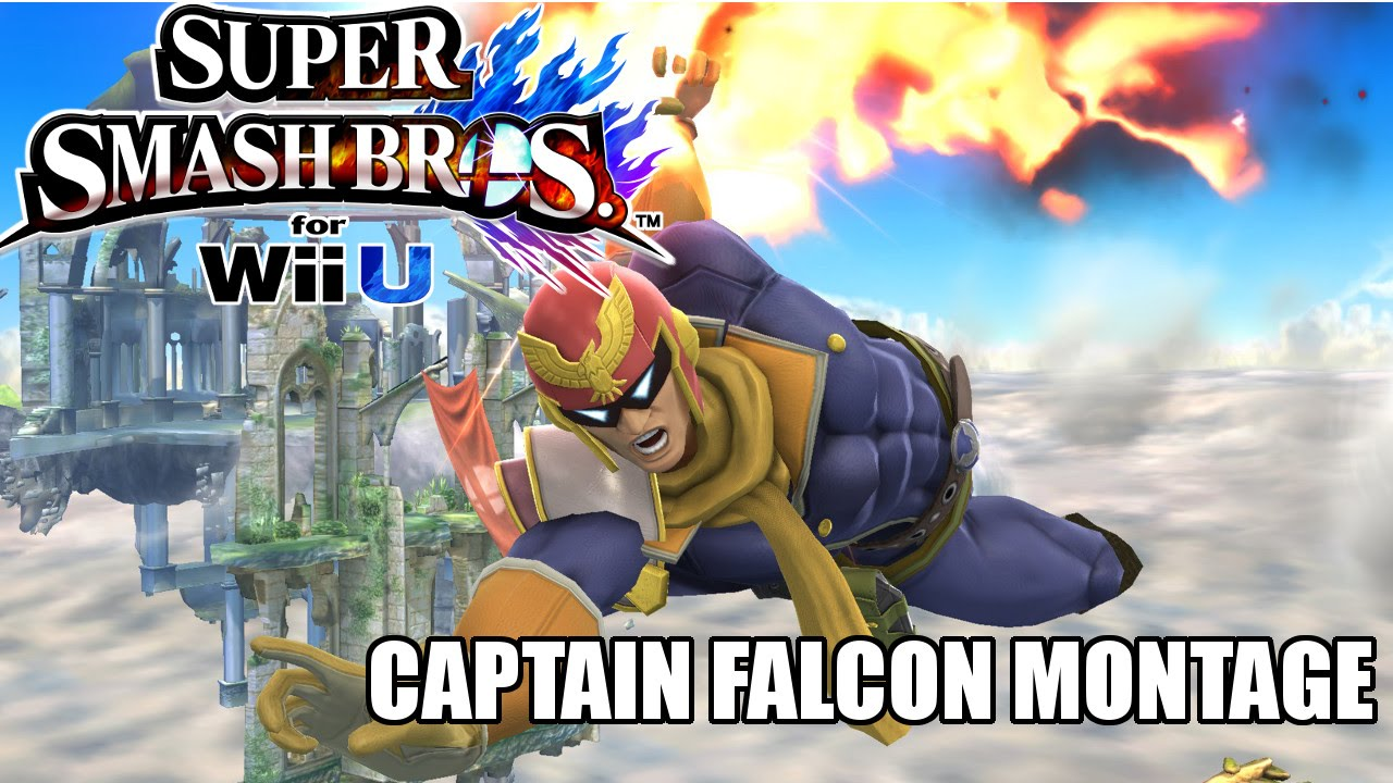 Super Smash Bros Wii U - Captain Falcon Montage - YouTube