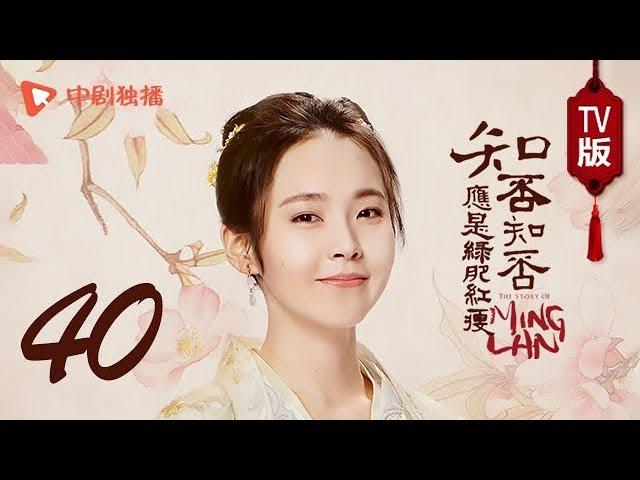 知否知否应是绿肥红瘦【TV版】40(赵丽颖、冯绍峰、朱一龙 领衔主演)