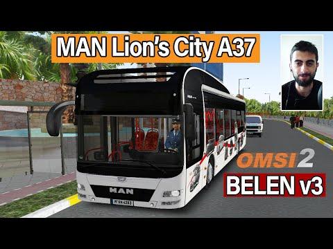 OMSI 2 - Belen Türk Haritası v3 ile MAN Lion's City A37 Otobüsü #5