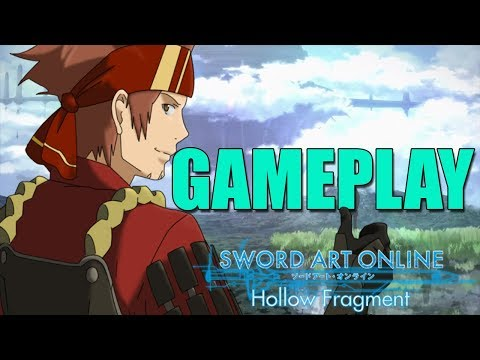 Sword Art Online Hollow Realization Deluxe Edition GAme play |