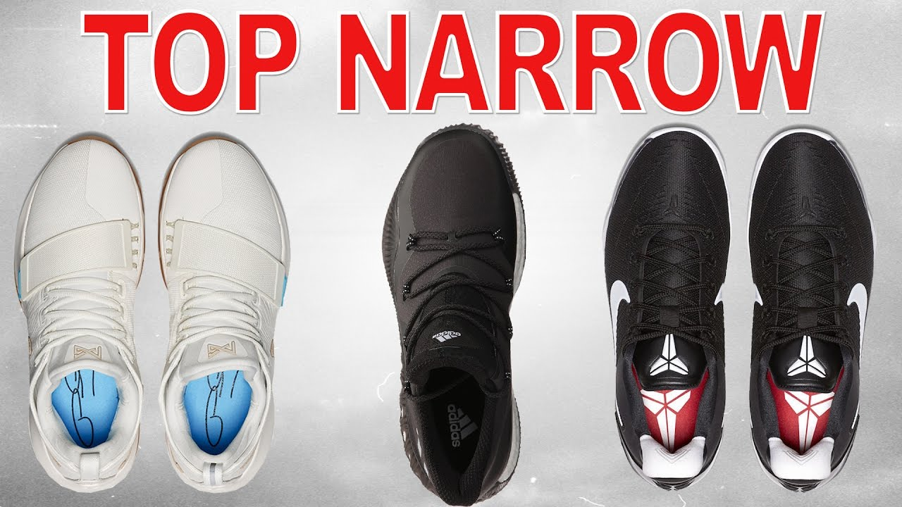 Top Basketball Shoes for NARROW Feet