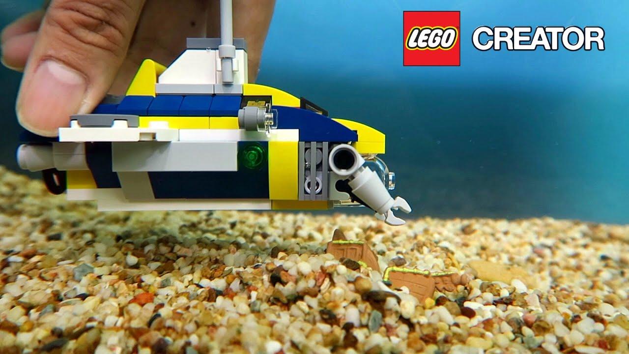 lego creator ocean explorer submarine p 3 of 3 lego. Black Bedroom Furniture Sets. Home Design Ideas
