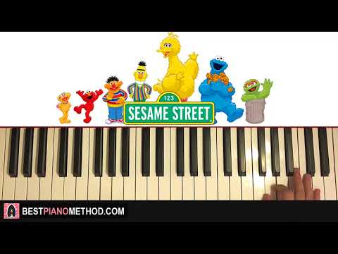 HOW TO PLAY - Sesame Street - Theme Song (Piano Tutorial Lesson)