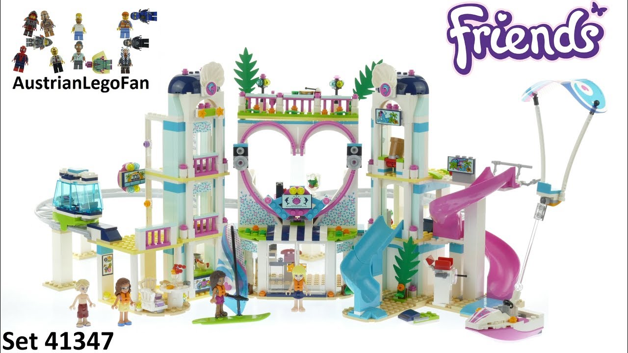 Lego Friends 41347 Heartlake City Resort Lego Speed Build Review