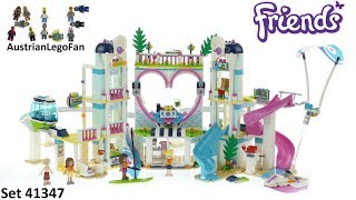 Lego Friends 41347 Heartlake City Resort - Lego Speed Build Review