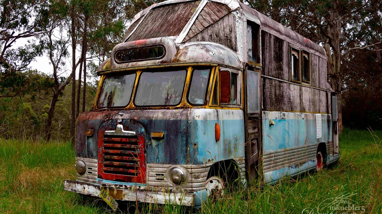 Hippie Buses Abandoned Cool Old Hippie Bus Youtube