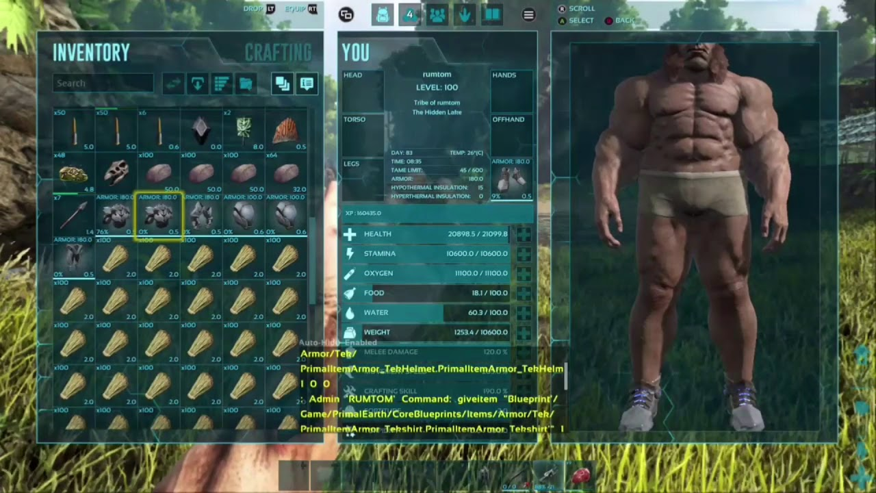 Ark tek armor for xbox one and ps4 youtube ark tek armor for xbox one and ps4 malvernweather Choice Image