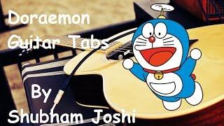 doraemon title song guitar tabs tutorial shubham joshi