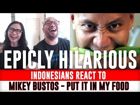 Indonesians React To Mikey Bustos - I PUT IT IN MY SOUP (Look At What You Made Me Do Parody)
