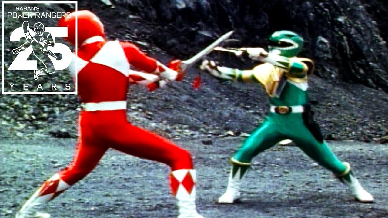 Power Rangers Classic Mighty Morphin Power Rangers Moments Youtube