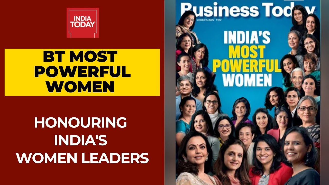 Business Today Most Powerful Women Awards Honouring Indian Women Leaders Youtube