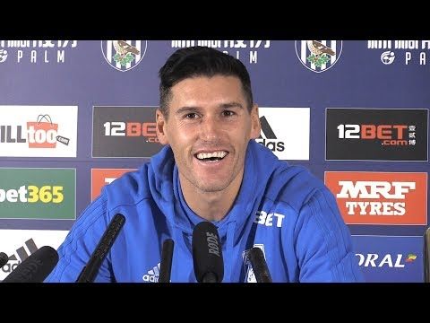 Press Conference With Gareth Barry Ahead Of Breaking The Premier League Appearance Record