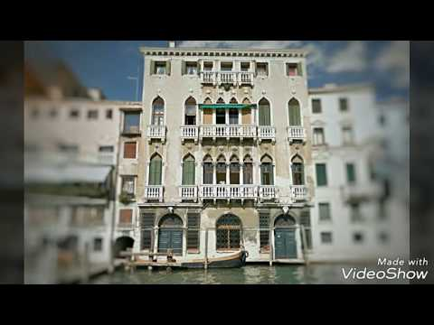 Abandoned Palazzo On The Grand Canal, Venice