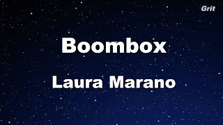 Boombox - Laura Marano Karaoke 【With Guide Melody】 Instrumental