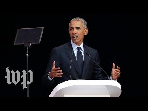 After Trump-Putin summit, Obama warns against 'strongman' politics