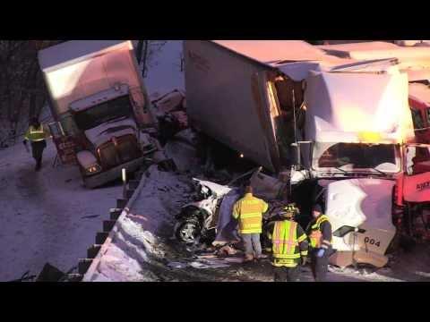 I-94 accident scene