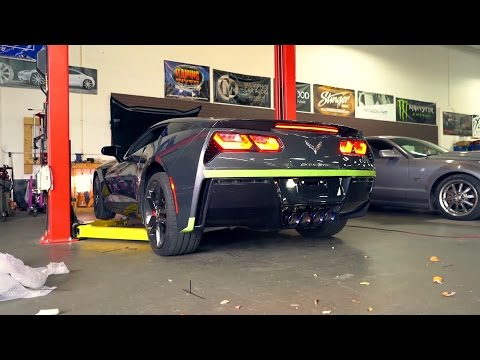 Corvette C7 Stingray w/ Armytrix Axle-Back Exhaust ft. Do It With Dan!