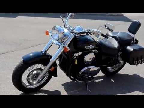 2007 Kawasaki Vulcan 1500 Classic - YouTube