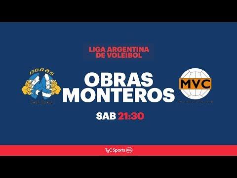 Liga Argentina: Obras San Juan Voley vs. Monteros Voley Club l #VoleyEnTyCSports