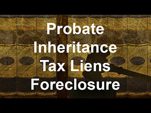 Inheritance, Foreclosure and Court
