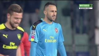 David Ospina vs Ludogorets Razgrad (Away) UCL 2016-17 HD 720p