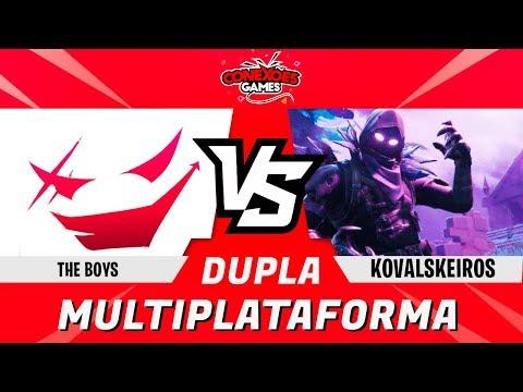 THE BOYS vs KOVALSKEIROS  - TORNEIO DUPLAS MULTIPLATAFORMA - QUARTAS DE FINAL