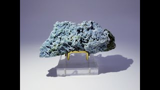 Blue Chalcedony Mineral Specimen from Nashik District, Maharashtra, India