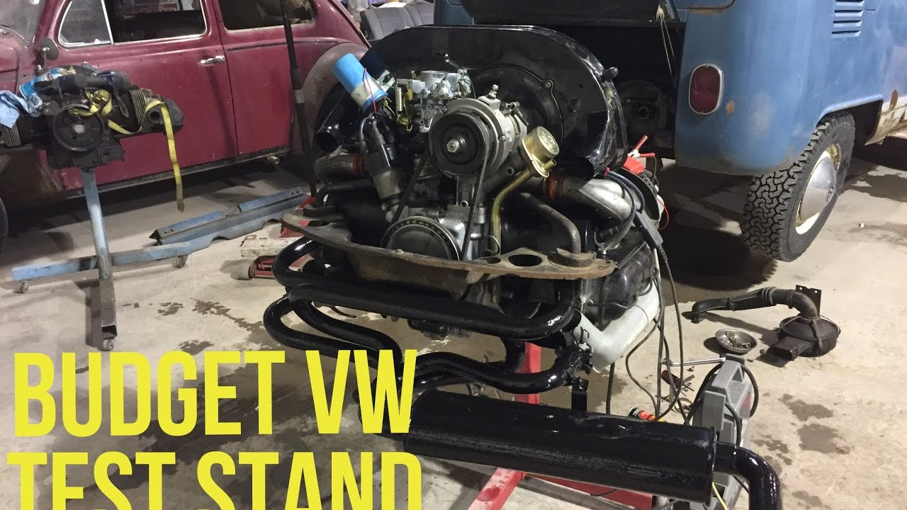 small resolution of  wiring a start the engine on stand aircooled vw test stand built by one arm