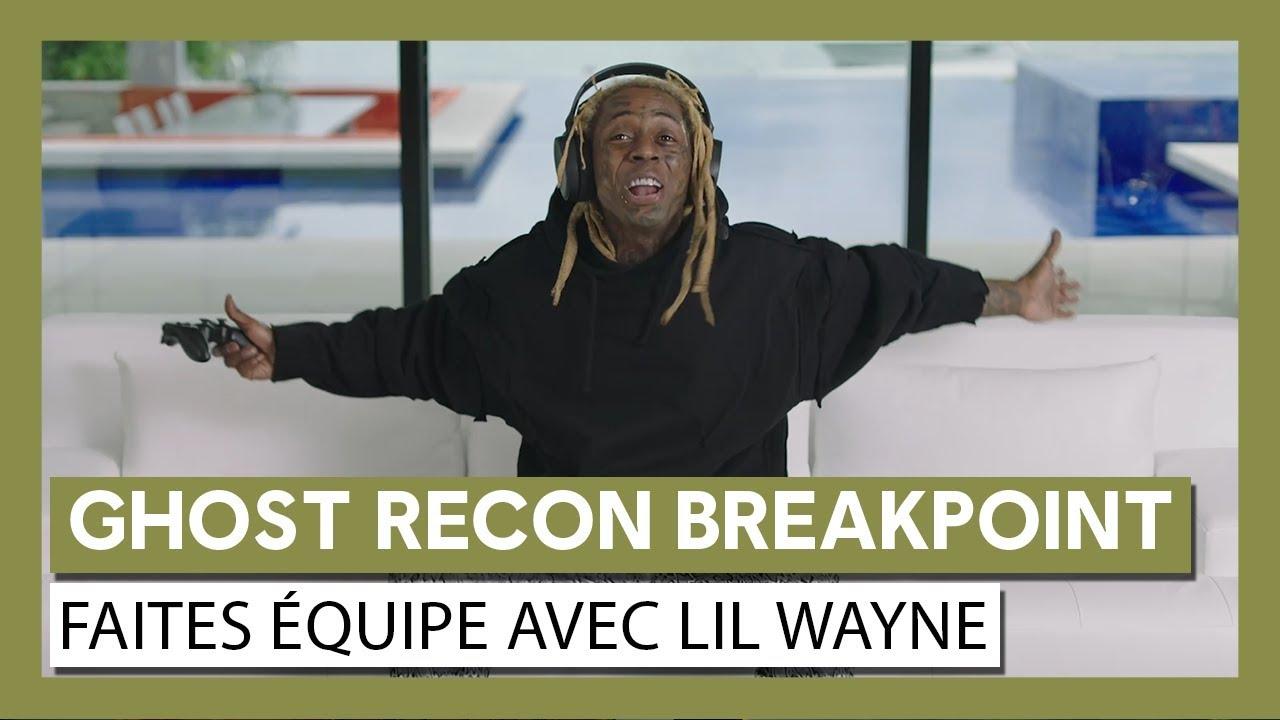 """Ghost Recon Breakpoint : Trailer live action """"En équipe"""" avec Lil Wayne"""