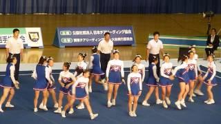 関東チアリーディング選手権2015 県立麻生高校ZIPS