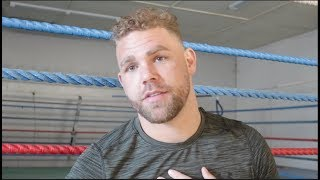 'EDDIE HEARN FLIRTING WITH ME. BUT IM LOYAL TO FRANK WARREN!' - BILLY JOE SAUNDERS PUTS IT STRAIGHT