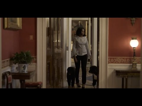 Michelle Obama Takes Last Walk Through White House