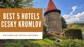 Top 5 Best Hotels in Cesky Krumlov, Czech Republic - sorted by Rating Guests