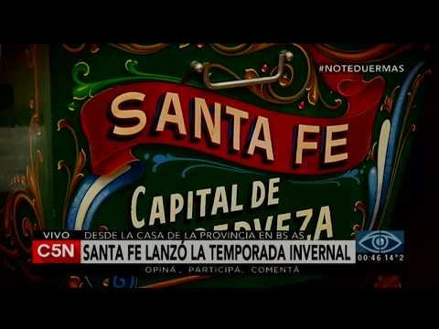 C5N - Turismo: La Provincia de Santa Fe lanzó la temporada de invierno 2017